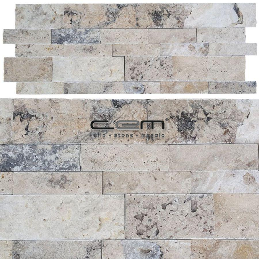 Philadelphia Travertine Wall Cladding Split Face Wall