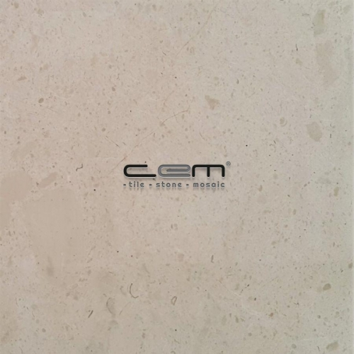 Sugar Fosilled Beige Marble Tile