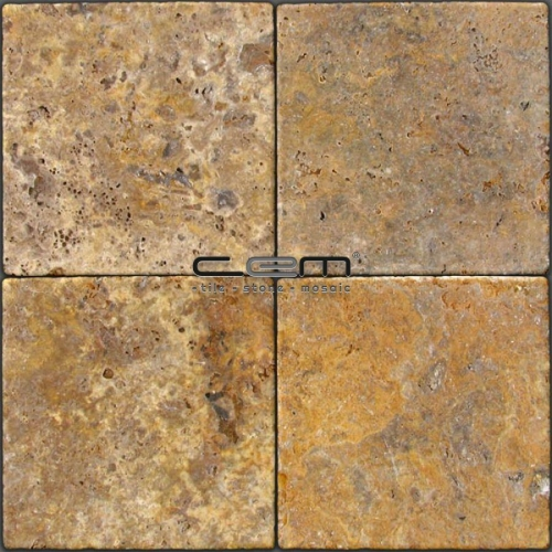 Scabas Traverten Tumbled Tile