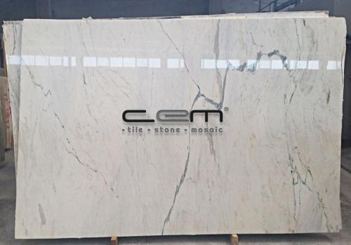 White Calacatta Marble Slab