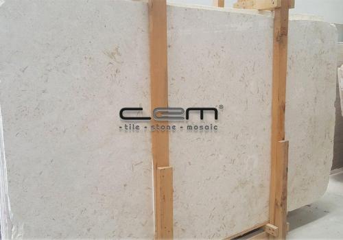 Myra Beige Fossil Jerusalem Limestone Slab