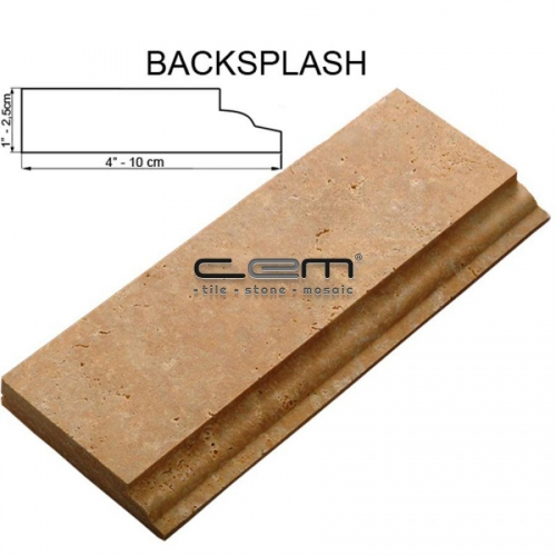 Backsplash Moulding