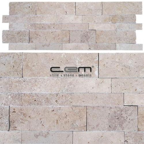 Klasik Traverten Panel Patlatma Mozaik