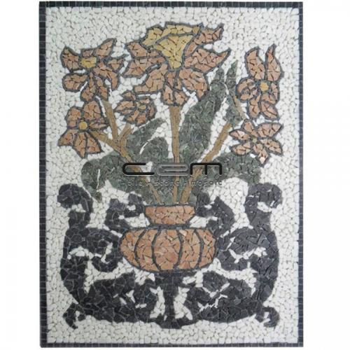 Flower Art Mosaic