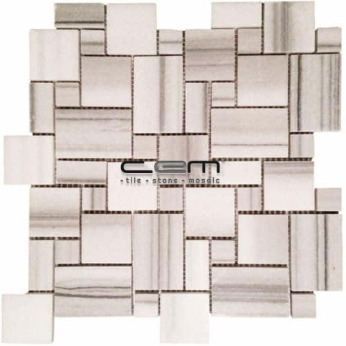 Equator Marble Mini Versailles Pattern Polished Mosaic