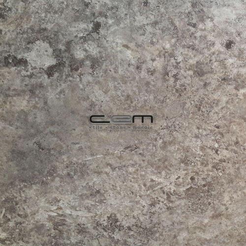 Silver Travertine Tile Filled Honed